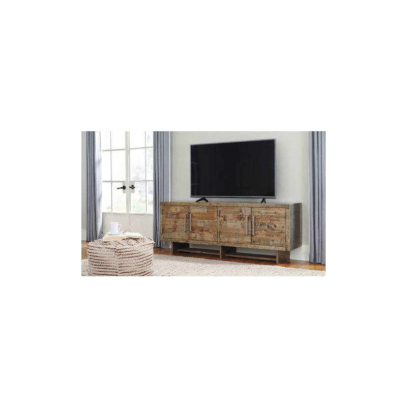 Mozanburg Extra Large Tv Stand By Ashley Furniture Miller Waldrop