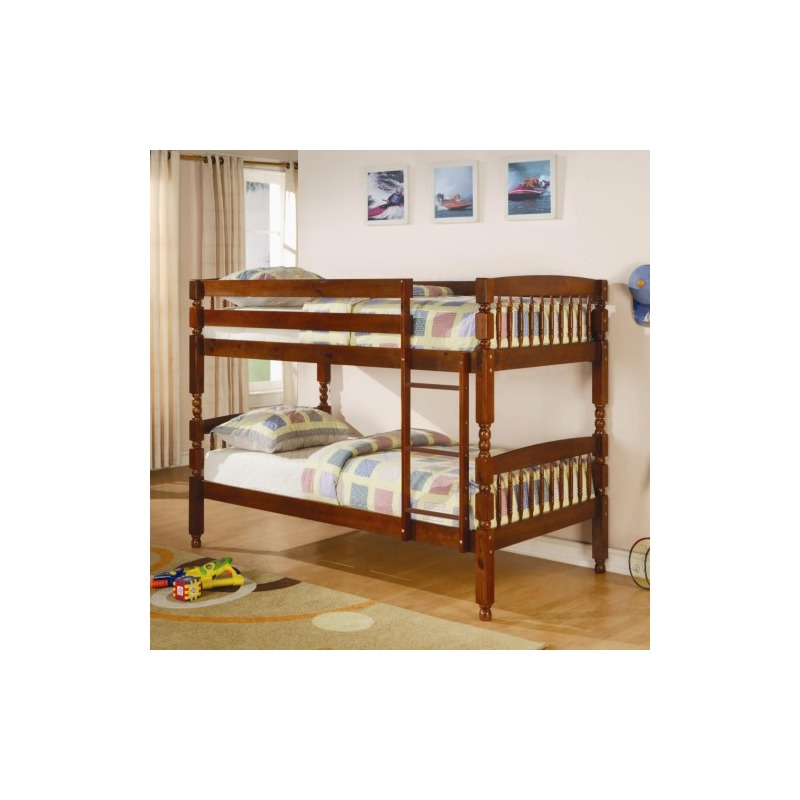 7978257c481a7 Bunks Twin Over Twin Bunk Bed by Coaster Furniture - 460223 ...