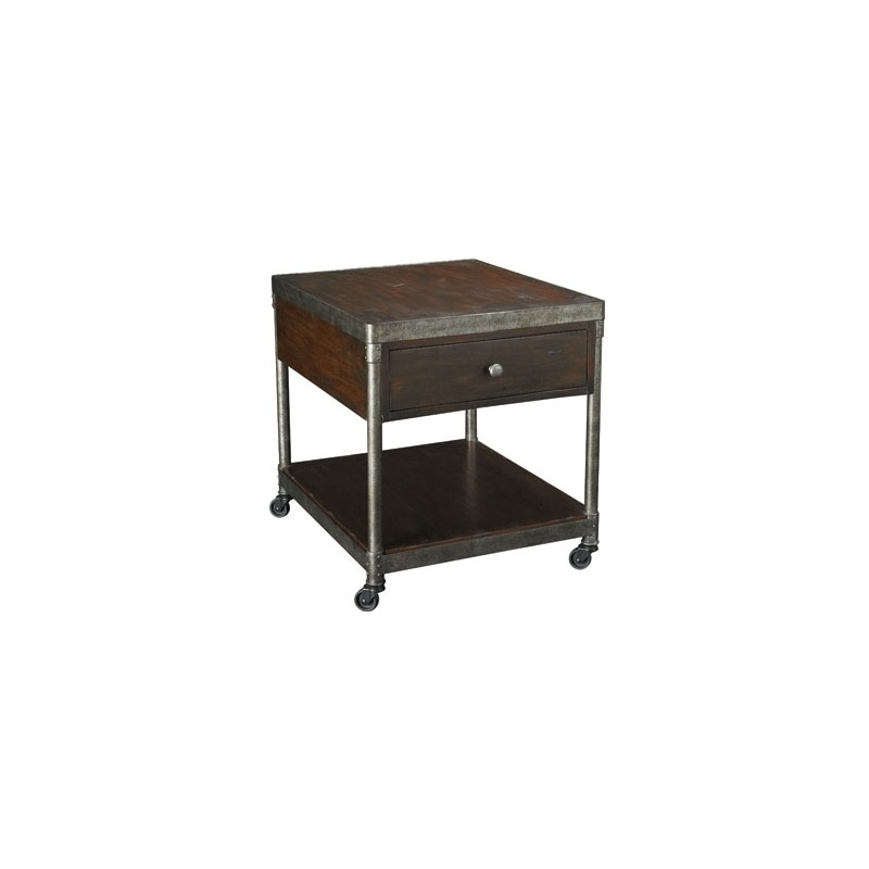 Structure Rectangular Drawer End Table By Hammary Furniture