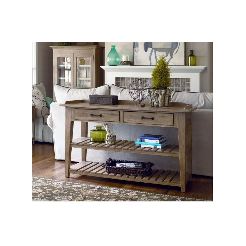 Tv Console Serving Table By Paula Deen 192803 Darbys Big Furniture